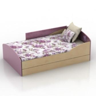 Woman Bed 3d Max Model Free