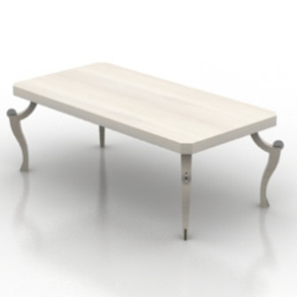 Wood Dining Table 3d Max Model Free