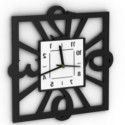 Modern Design Wall Clock 3d Max Model