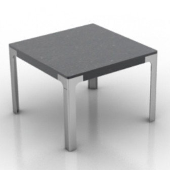 Square Table 3d Max Model Free