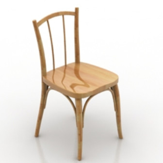 Wooden chair design 3d max model free 3ds max free for Chair design 3ds max