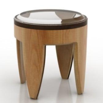 3d Max Model Wooden Table Design
