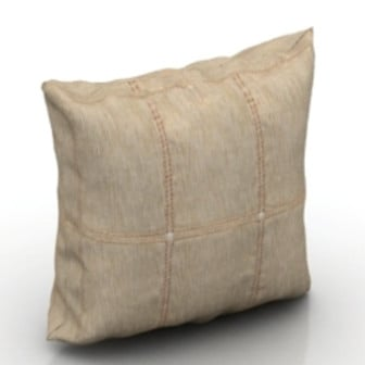 Realistic Retro Pillow 3d Max Model