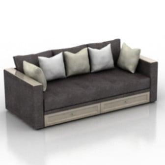 3d model sofa | category: