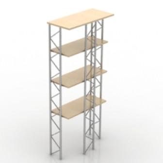 Simple Multi-storage Rack