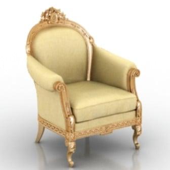 European Luxury Sofa Chair