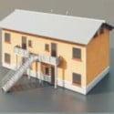 Hus Två våning