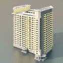 Edificio residenziale alto