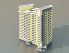 High Rise Residential Building 3d Max Model Free (3ds,Max