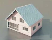 Simple Houses 3d Max Model Building 3dsmax Free Download