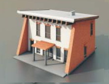 Simple house 3d model 3ds max free download id18435 for Minimalist house 3d max