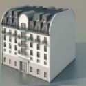 Continental Residential 3d Max Model