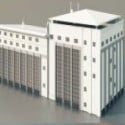 High-rise Office Building 3d Max Model