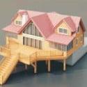 Villa Architectural 3d Max Model