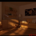 Sunset Living Room 3d Max Model Free