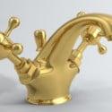 Classic Gold Faucet 3d Max Model