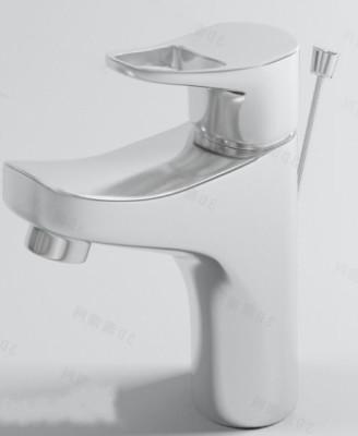Popular Bathroom Fixtures Bathtub Shower Sink Toilet 3D Model OBJ