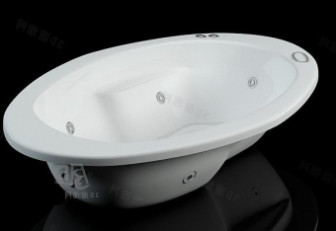 Ellipse Bathtub 3d Max Model Free