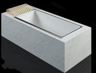 Simple Luxury Bathtub