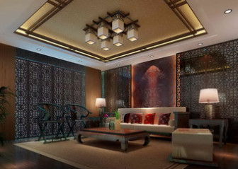 Asian living room scene interior 3d max model free 3ds for Interior modeling in 3ds max