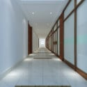 Office Corridor Interior 3d Max Model Free