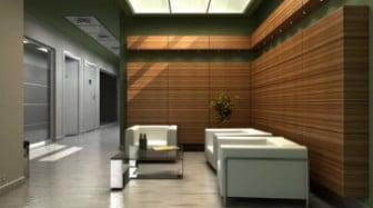 office reception interior design 3d max model free 3ds