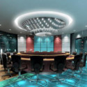 Luxury Conference Room Interior 3d Max Model