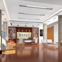 Bright Modern Meeting Room Interior 3d Max Model