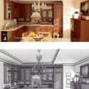 Retro Style Kitchen Interior 3d Max Model Free