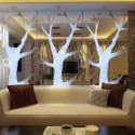 Modern Living Room Tree Stylish