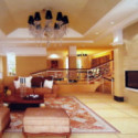 Duplex Living Room Interior 3dsMax Scene