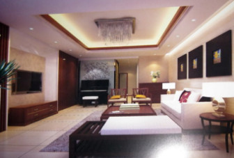 Simple design chinese living room interior scene 3dsmax for Dining room 3d max interior scenes