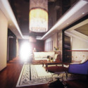 Dark Living Room 3dsMax Interior Scene