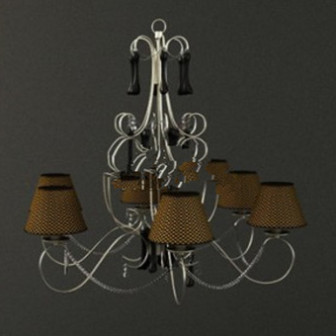 Decoration Chandelier 3d Max Model Free
