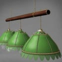 Green Kitchen Chandelier 3d Max Model Free
