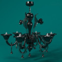 Black Wrought Iron Chandelier 3d Max Model Free