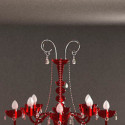 Red Chandeliers 3dsMax Model