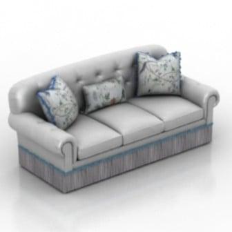 Chaise Sofa 3d Max Model Free