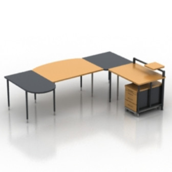 Office Desk 3d Max Model Free 3ds Max Free Download