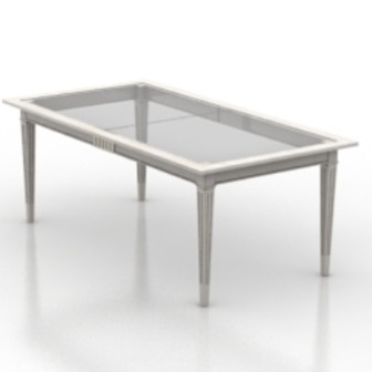 Transparent Glass Table 3d Max Model Free