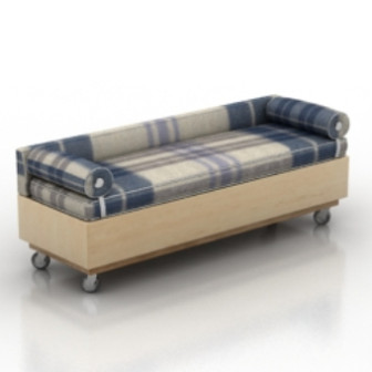 Brown Sofa Multiplayer 3d Max Model Free