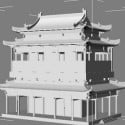 Ancient Architecture 3d Max Model Free