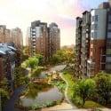 High-rise Residential Exterior Scene