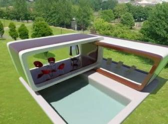 Swimming Pool 3ds Max Exterior Scene