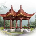 Chinese Architecture Pavilion 3dsmax Model Free
