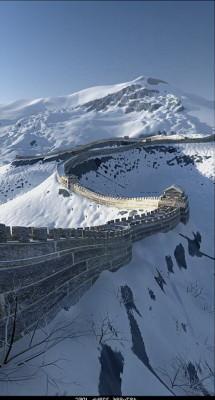 Great Wall 3dsMax Model Exterior Scene