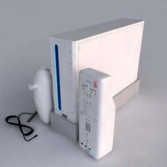 Ninitentdo Wii 3dsMax Model