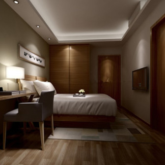 Bedroom design 3d max model free 3ds max free download for Decoration 3ds max
