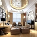 European Living Room Interior