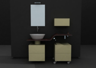 Refreshing Bathroom 3d Max Model Free